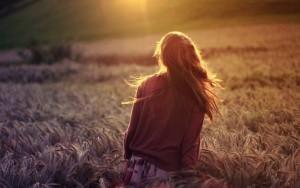 PIC Girl in field